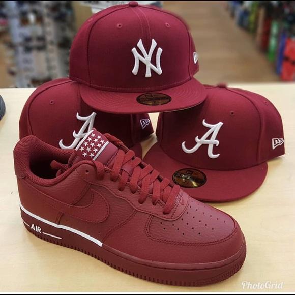 aec212aa8ad81 Air Force 1 Team Red   White. NWT. Nike